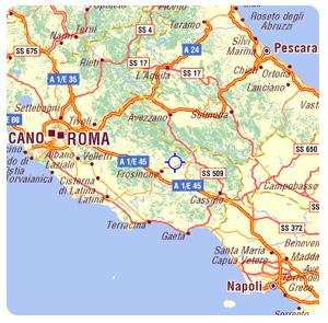 Frosinone Italy Map.Casa Aia Le Monache Veroli Frosinone Italy